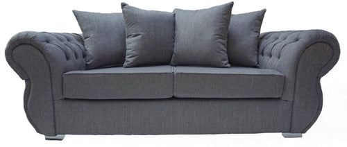 Rio 3 Seater Pillow Back Sofa