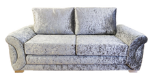Load image into Gallery viewer, Colorado Glitz Crushed Velvet 3 Seater Formal Back Sofa