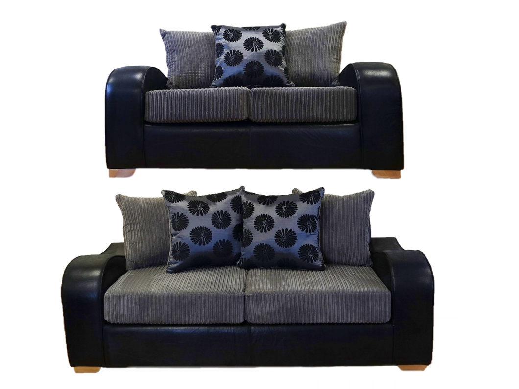 Tigan 3 Seater & 2 Seater Sofa Set