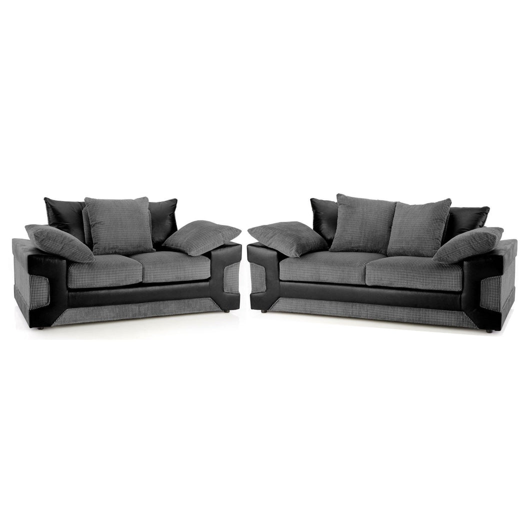 Domino 3 Seater & 2 Seater Sofa Set