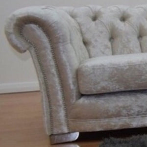 Chesterfield Glitz Crushed Velvet Chair