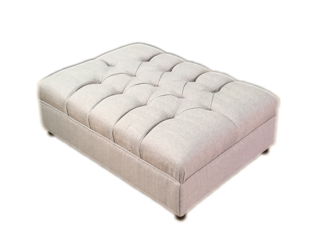St Andrews (Stallion) Button Footstool