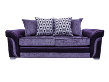 Load image into Gallery viewer, Cassius 3 Seater Pillow Back Sofa