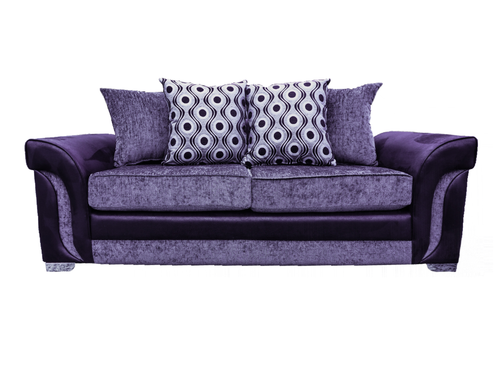 Cassius 3 Seater Pillow Back Sofa