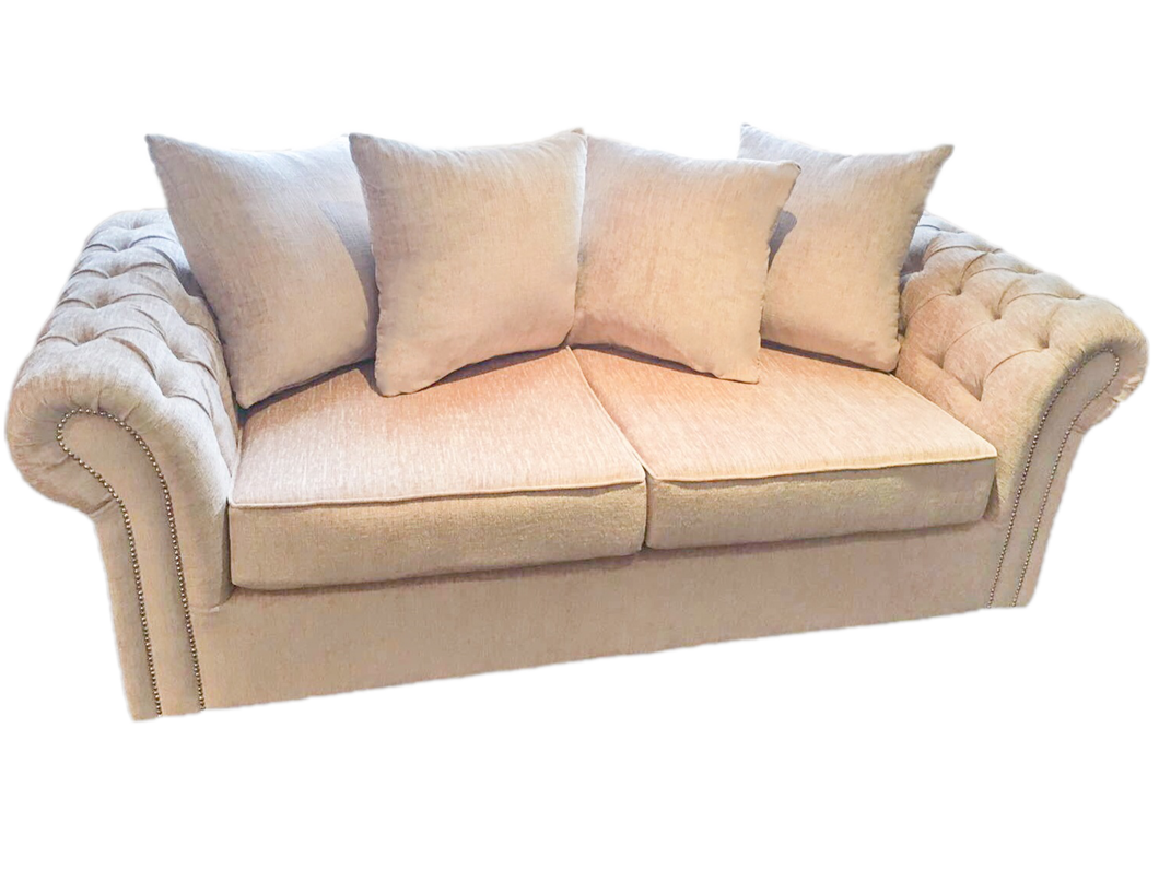 Chester 3 Seater Pillowback Sofa