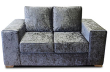 Load image into Gallery viewer, Delta Glitz Crushed Velvet 2 Seater Sofa