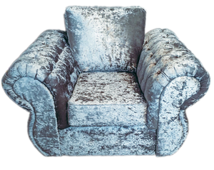 Rio Glitz Crushed Velvet Chair