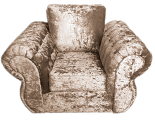 Load image into Gallery viewer, Rio Glitz Crushed Velvet Chair
