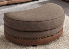 Load image into Gallery viewer, Ascot Moon Footstool