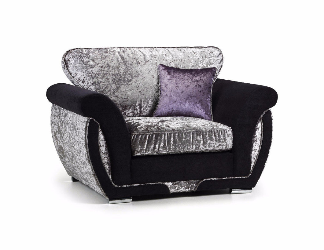 Shannon Glitz Crushed Velvet Chair
