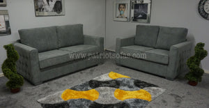 Midas Button 3+2 Sofas