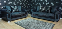 Load image into Gallery viewer, Chloe 3 Seater & 2 Seater Pillow Back Sofa Set
