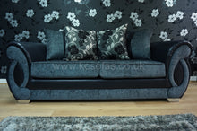 Load image into Gallery viewer, Chloe 3 Seater Pillow Back Sofa Bed