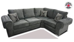 Verona Right Hand Formal Back Corner Sofa
