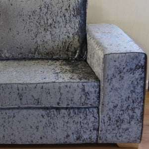 Delta Glitz Crushed Velvet Chair