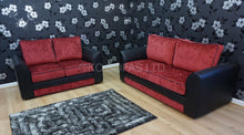 Load image into Gallery viewer, Macey 3 Seater & 2 Seater Formal Back Sofa Set
