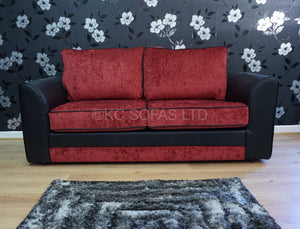 Macey 3 Seater Formal Back Sofa