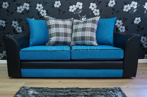 Macey 3 Seater Pillow Back Sofa