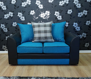 Macey 3 Seater & 2 Seater Pillow Back Sofa Set