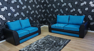 Macey 3 Seater & 2 Seater Formal Back Sofa Set