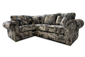 Panther Left Hand Pillow Back Corner Sofa