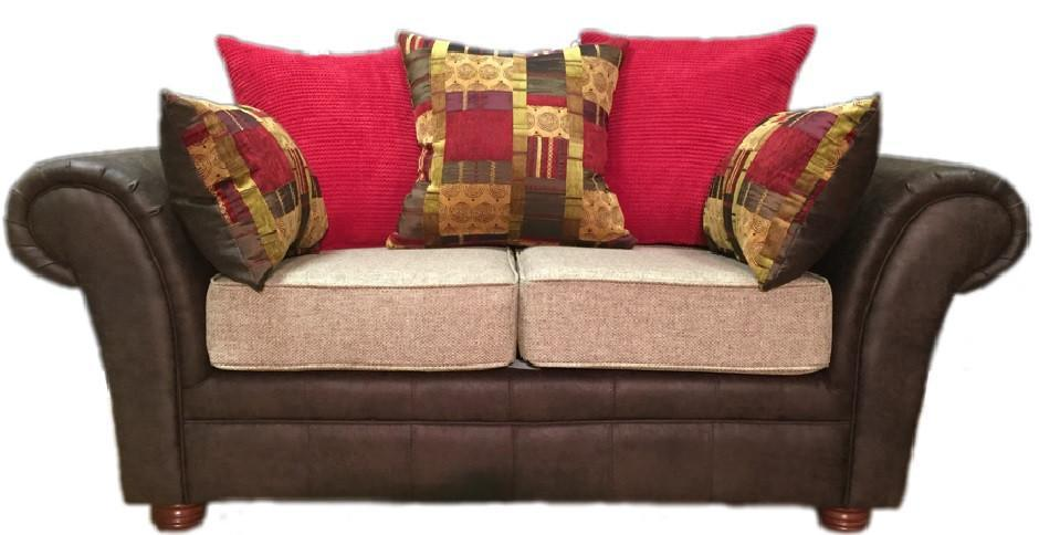 Perez 2 Seater Pillow Back Sofa