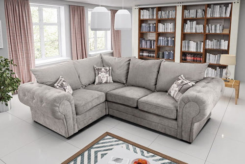 Verona Left Hand Formal Back Corner Sofa