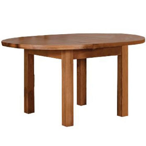 TURIN RANGE. Round extending dining table