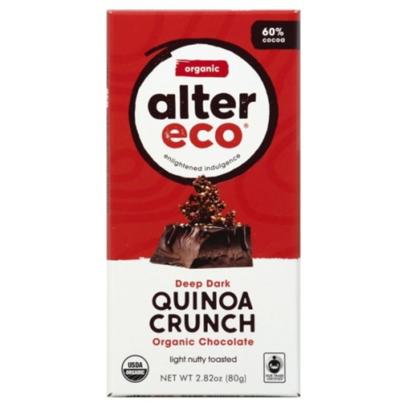AlterEco Quinoa Crunch Chocolate Bar