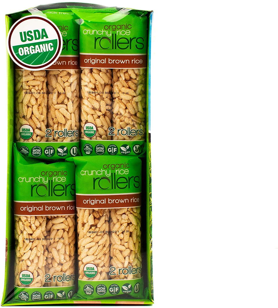 Bamboo Crunchy Brown Rice Rollers