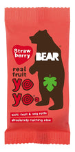 Load image into Gallery viewer, Bear Yo Yo Fruit Roll-Ups Strawberry (Individuals)