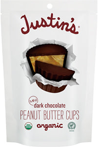 Justin's Dark Chocolate Peanut Butter Cups - Minis