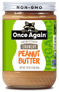 Once Again Peanut Butter Crunchy