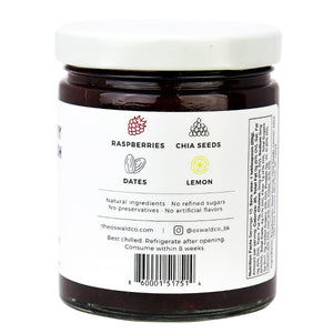 Oswald Co Chia Jam Raspberry