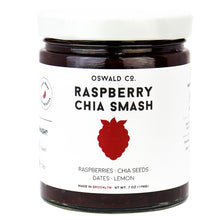 Load image into Gallery viewer, Oswald Co Chia Jam Raspberry