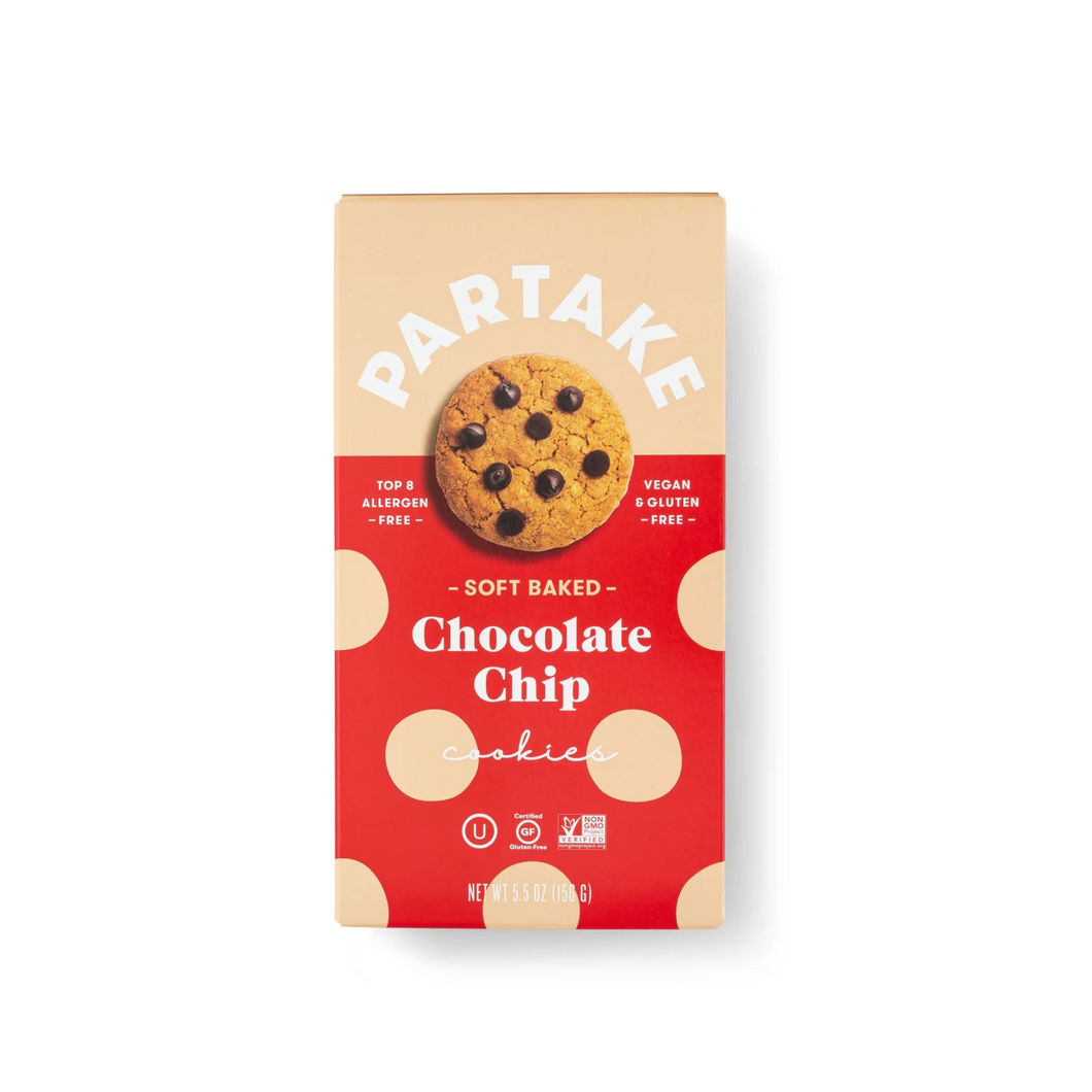 Partake Chocolate Chip Soft Baked Cookies