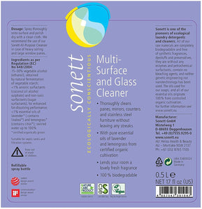Sonett Multi Surface Glass Cleaner