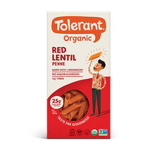 Load image into Gallery viewer, Tolerant Organic Red Lentil Penne