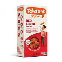 Load image into Gallery viewer, Tolerant Organic Red Lentil Rotini