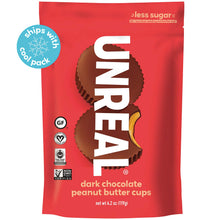 Load image into Gallery viewer, Unreal Dark Chocolate Peanut Butter Cups - Large Bag