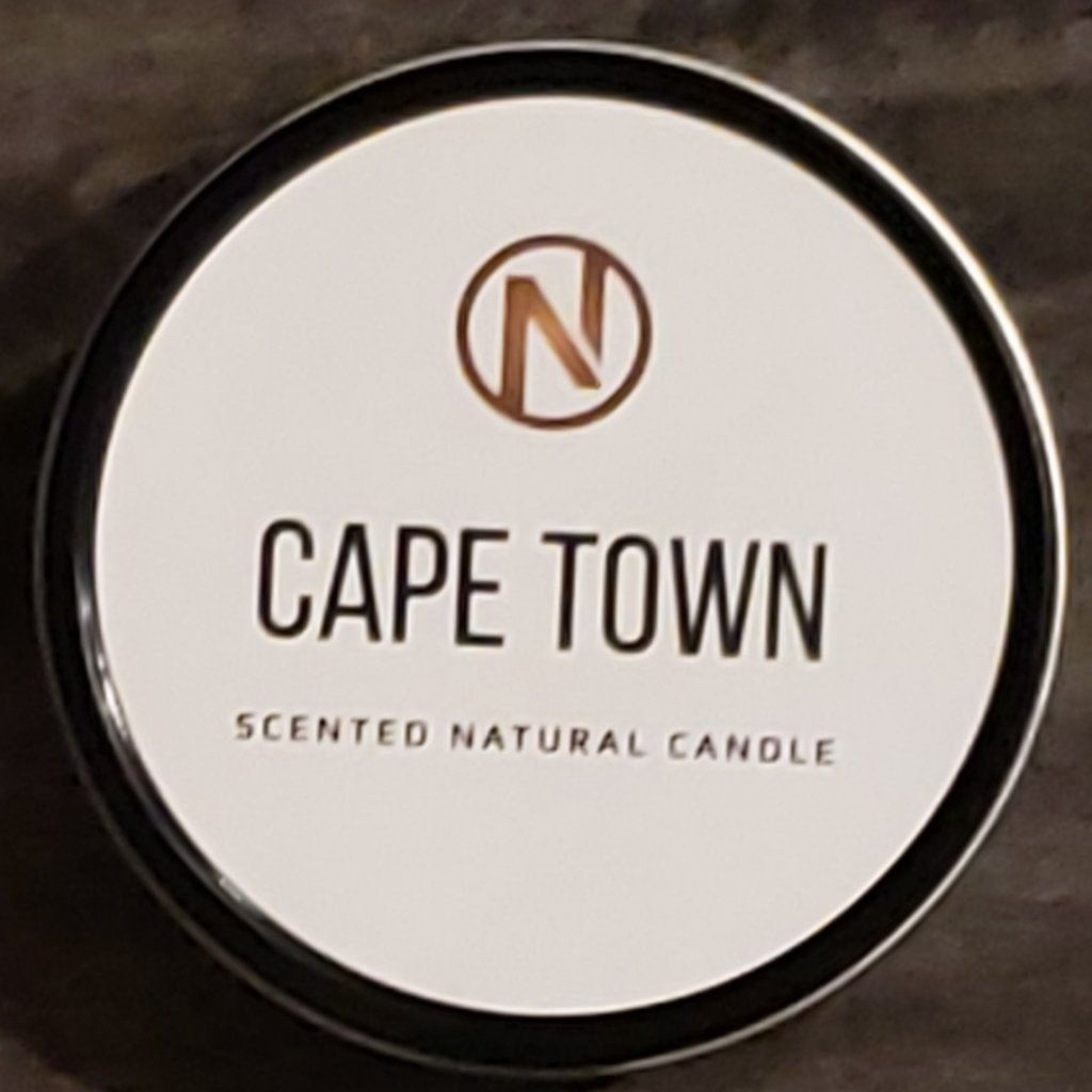 CAPE TOWN CANDLES (4oz) - AMOUR NOIR