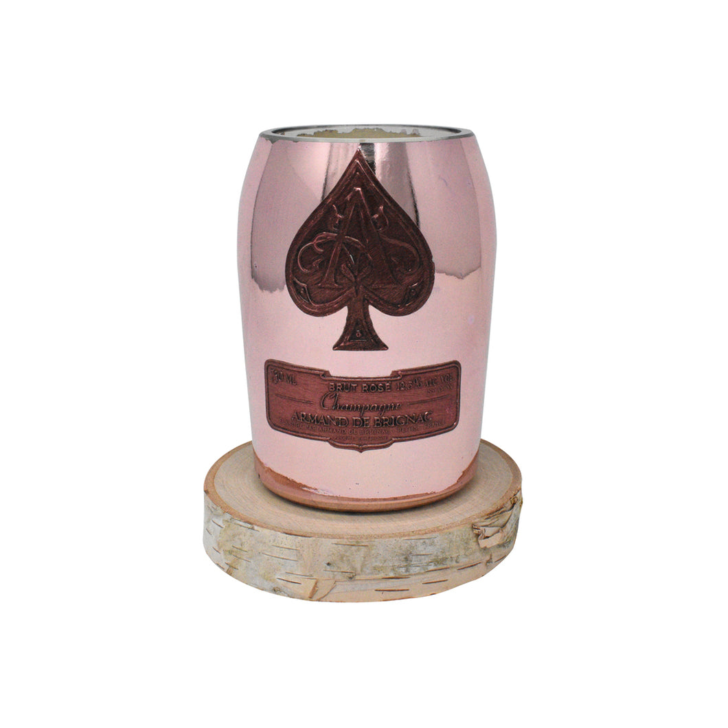 Champagne Candle - Rose - AMOUR NOIR