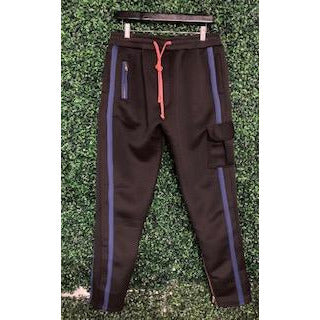 SL BLACK + PINK/ BLUE JOSHUA SWEAT PANT