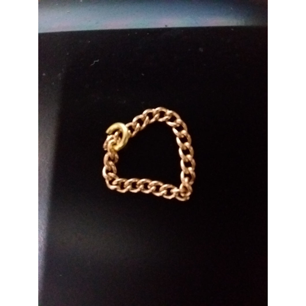 Gold Tijahnni Chain Ring - AMOUR NOIR