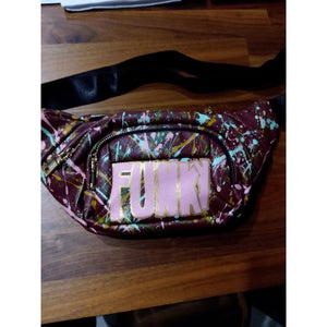 FUNKY WINE RED FANNYPACK