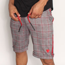 CHECKERED PLAID SHORTS - AMOUR NOIR