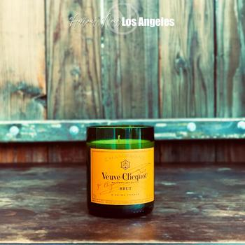 Champagne Candle  - Yellow - AMOUR NOIR