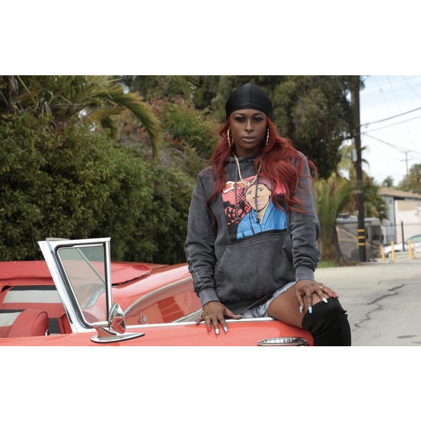 "Harriet Tubman ""We Out"" Charcoal Hoodie"