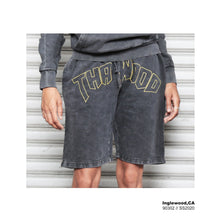 Vintage Charcoal Inglewood Shorts - AMOUR NOIR