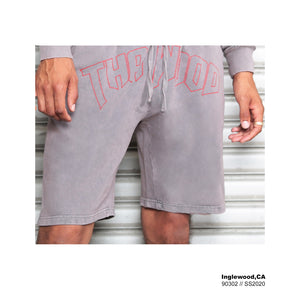 Vintage Grey Inglewood Shorts - AMOUR NOIR